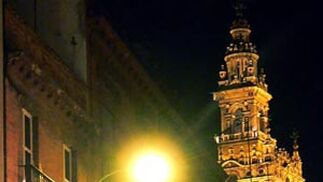 La iluminación en el centro
