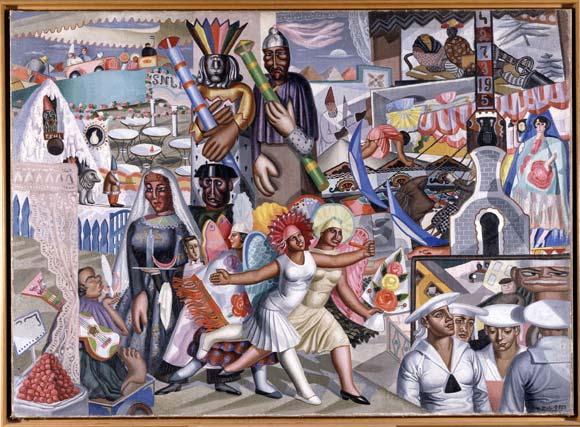 """Obras de la exposición """"La noche española"""""""