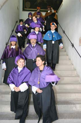 Apertura del curso académico 2008-2009 en la UGR