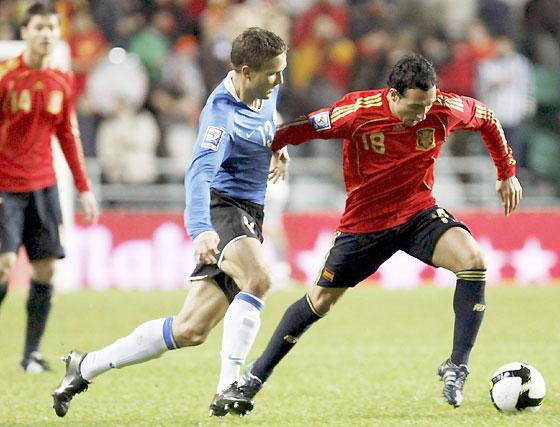 Las imágenes del Estonia-España (0-3)