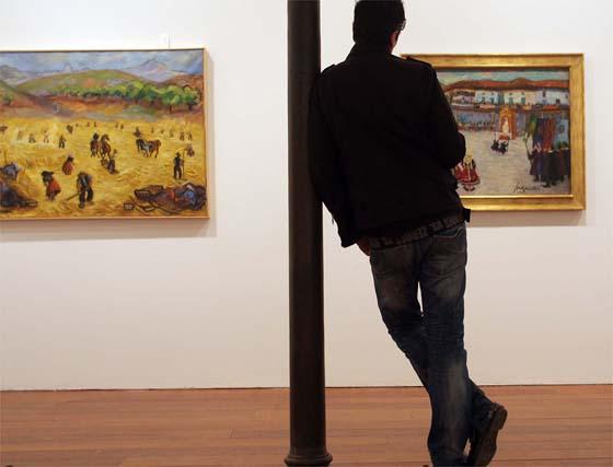 Exposición de José Guerrero en Granada