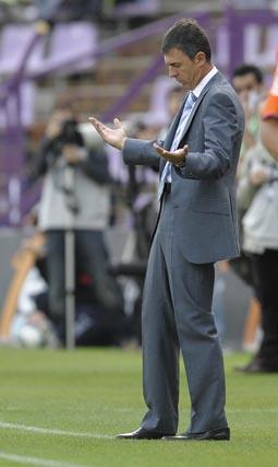 Valladolid - Recre (1-1): La suerte dio la espalda