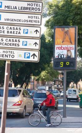 Los termómetros no superan los 10º  Foto: Victoria Hidalgo
