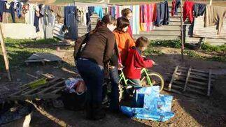 Los Reyes del año 2009 han sido especiales para los niños de la Verea del Cerero.
