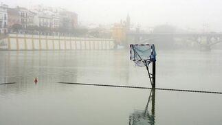 Zona de juegos acuáticos en la dársena.  Foto: Juan Carlos Muñoz