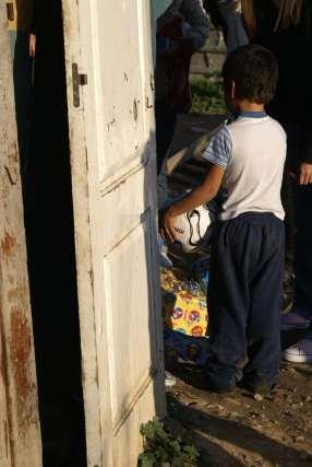 El balón de fútbol y las bicicletas, los regalos preferidos de los niños.