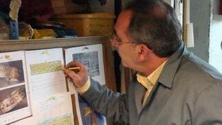 Dibujo de las piezas del tesoro visigodo de Guarrazar en Toledo.  Foto: Juan Parejo