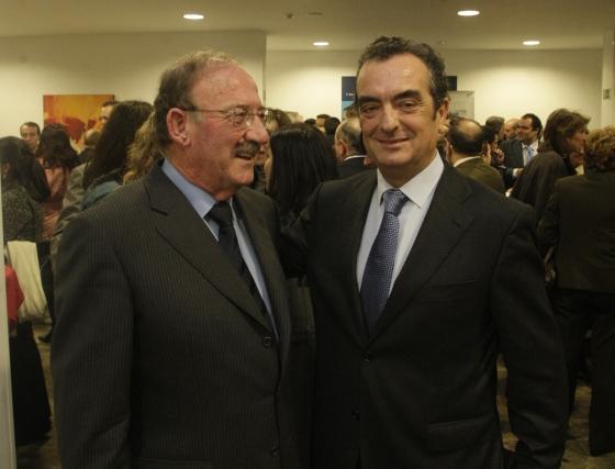 Andrés Macías y Javier Moyano  Foto: ERASMO FENOY / PACO GUERRERO