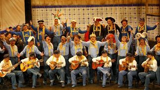 El coro Los pabellones.  Foto: Jesus Marin