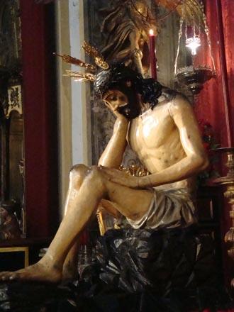 Señor de la Humildad y Paciencia.  Foto: Juan Parejo