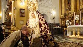 Virgen del Refugio de San Bernardo.  Foto: Juan Parejo