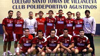 Agustinos. Balonmano, senior, segunda nacional. /Pepe Villoslada  Foto: Granadahoy.com