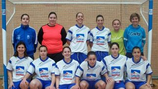 Atlético Monachil. Balonmano, senior, primera andaluza femenina. /Manu López  Foto: Granadahoy.com