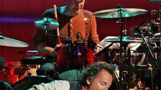 The Boss, durante su concierto del 26 de octubre de 2006 en Granada.   Foto: Miguel Ángel Molina / Efe