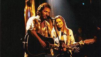Bruce Springsteen, a dúo con Melissa Etheridge.