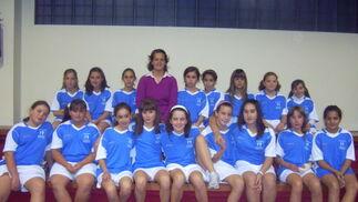 CD Balonmano Maracena. Balonmano, alevín, Campeonato de Andalucía femenino. /Enrique López  Foto: Granadahoy.com