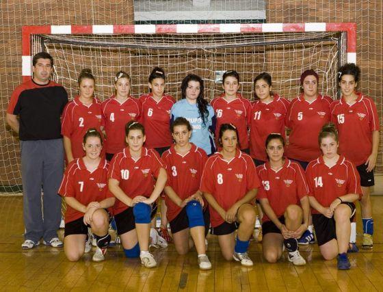 CD Balonmano Granada Sur Gójar La Zubia. Balonmano, juvenil, primera andaluza femenina. /Granada Hoy  Foto: Granadahoy.com
