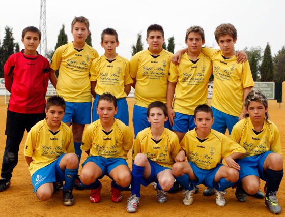 CD Huétor Tájar B. Infantil, primera provincial. /Pepe Villoslada  Foto: Granadahoy.com