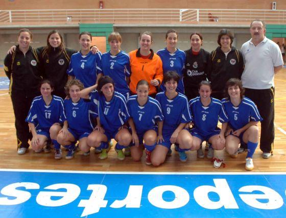 CDU Granada. Fútbol sala, senior, división de plata femenina. /Granada Hoy  Foto: Granadahoy.com