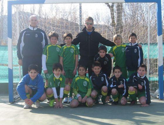 CF Sierra Nevada Cenes. Fútbol Sala, benjamín, primera provincial. /Granada Hoy  Foto: Granadahoy.com