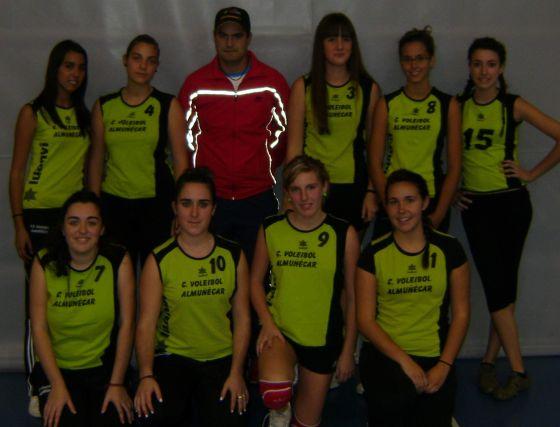 CV Almuñecar. Voleibol femenino. /Granada Hoy  Foto: Granadahoy.com