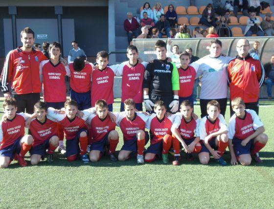 Churriana CF. Infantil, primera provincial. /Granada Hoy  Foto: Granadahoy.com