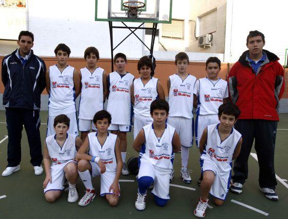 Crispines Maristas. Baloncesto, infantil. /Pepe Villosalada  Foto: Granadahoy.com