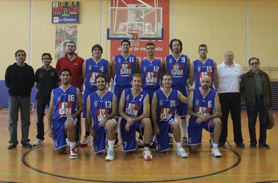 GAM Atarfe. Baloncesto, senior, Liga EBA. /Pepe Torres  Foto: Granadahoy.com