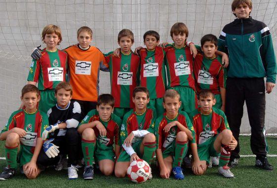 Granada Atlético. Alevín, preferente. /Patri Díez  Foto: Granadahoy.com