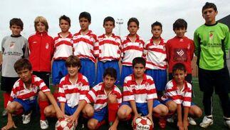 Granada CF. Alevín, primera provincial. /Patri Díez  Foto: Granadahoy.com