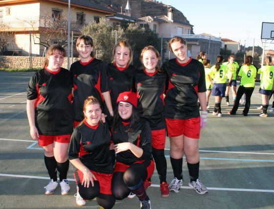 La Huertezuela. Fútbol sala, senior, femenino. /Granada Hoy  Foto: Granadahoy.com
