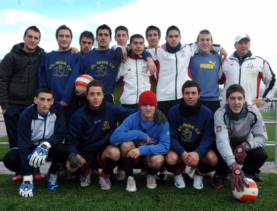 Atlético Padul. Juvenil, primera provincial. /Patri Díez  Foto: Granadahoy.com