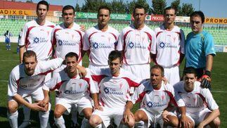 Guadix CF. Sénior, Liga Andaluza. /Ramón Ubric  Foto: Granadahoy.com