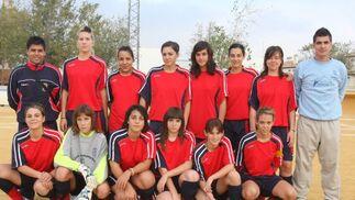 Imperio de Albolote. Sénior, primera provincial femenino. /Esther Falcón  Foto: Granadahoy.com