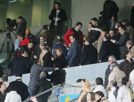 Joaquín Bilbao sufrió en el palco en la primera mitad pero festejó el triunfo en la segunda.  Foto: Pascual