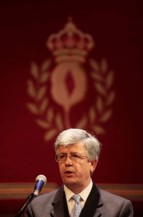 La Federación de Comercio también recibió una medalla de plata.   Foto: Miguel Rodr?ez