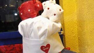 Amor de cocina en Heracles.  Foto: Victoria Hidalgo - Belén Vargas