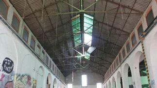 El interior del edificio está lleno de posibilidades.  Foto: Miguel Rodriguez