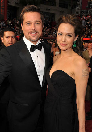 Brad Pitt y Angelina Jolie.  Foto: AFP Photo / EFE / Reuters