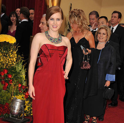 Amy Adams, nominada por 'La duda'.  Foto: AFP Photo / EFE / Reuters