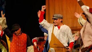 La pensadora gaditana (comparsa). 2º Premio. Foto: José Braza, Jesús Miró y Lourdes Vicente