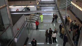 Aspecto de una de las estaciones del metro.  Foto: Jose Angel Garcia