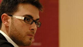 Guillermo Quero durante el debate. / Jesús Ochando  Foto: Jes?chando