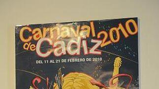 Obras candidatas a cartel del Carnaval de Cádiz 2010.  Foto: Joaquin Hernandez Kiki