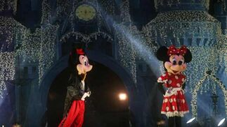 Como si de una película de Disney se tratara, el parque María Cristina se engalana de magia y colorido  Foto: J. M. Q.