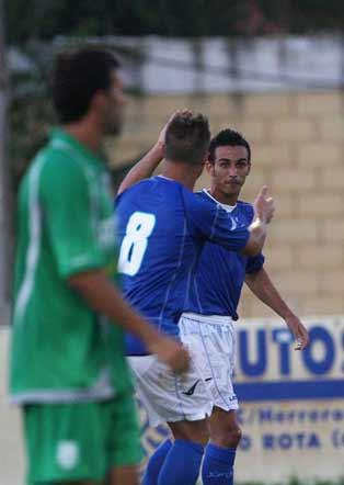 El Deportivo de Javi López golea al combinado roteño 7-0 en un primer partido de pretemporada en el que todos sus delanteros ven puerta  Foto: Juan Carlos Toro