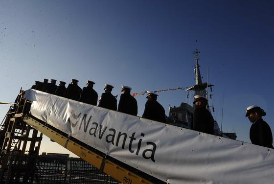 Navantia entrega el buque de Vigilancia Litoral Naiguatá a la Armada de Venezuela.   Foto: Elias Pimentel