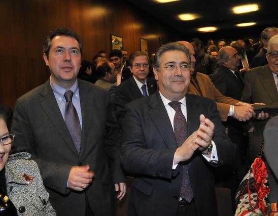 Espadas y Zoido.  Foto: Juan Carlos V?uez