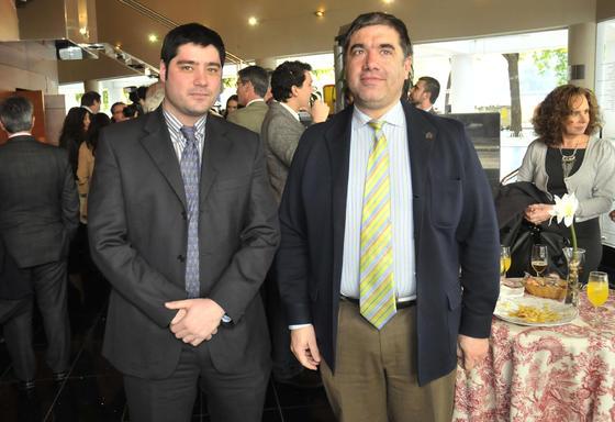 Miguel Ángel Nistal y Eduardo González Barba.  Foto: J.C. Vázquez Y J.A. García