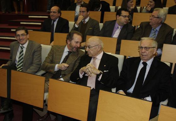 José Luis Sánchez Teruel, Rodrigo Charlo, Manuel Clavero y José Luis Ballester.  Foto: J.C. Vázquez Y J.A. García